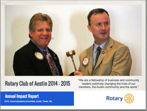 Rotary Club of Austin Impact Report