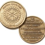 Four-Way Test Coin