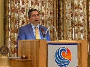 April speaker Andres Alcantar