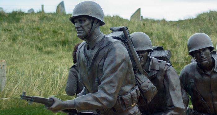 D-Day Bronze Memorial